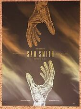 Dkng Sam Smith Stg The Paramount Seattle WA Art Print Poster Mondo Concert Show