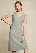 BEAUTIFUL * NEXT * TAILORED OFFICE GREY DRESS SIZE 20 TALL  NEW WITH TAGS