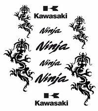 Aufkleber Set / Kawasaki Dekor Set / Kawasaki / Ninja / Kawadrache