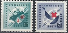 CCCP / Sowjetunion Nr. 2787-2788** 100 Jahre Internationales Rotes Kreuz