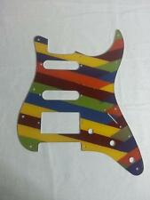 Pick Guard for your Fender Stratocaster - Strat - SSH - Custom Painted - roygbiv