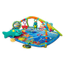 Baby Einstein Nautical Friends Play Mat Gym w/ Motion Lights Music & Soft Toys