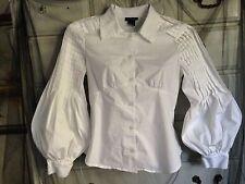 Spense Pleated Wide Cuffed Sleeves Blouse gothic lolita aristocrat ouji kawaii