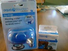 PETSAFE AQUA FOUNTAIN - FILTERED MOVING WATER FOR YOUR PET BOWL + FILTERS