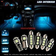 8pcs Canbus Ice Blue LED Interior Light Bulbs Package kit for 2009-up BMW E89 Z4