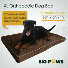 Memory Foam Dog Pet Bed Mat Orthopedic Extra Large Dog Bed Water-Resistant