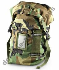 NEW Military Issue Protective Carrying Bag Ensemble Utility Bag Woodland Camo
