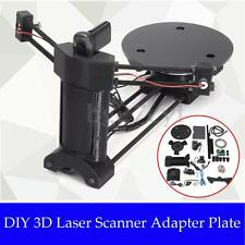 Open Source 3D Laser Scanner Adapter Object Plate For Ciclop 3D Printer DIY New