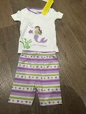 Nwt Gymboree Pjs Sleepwear  Size 2t Baby Girl Little Mermaid