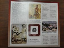 US MINT COIN AND INFORMATION CARD ARES GOD OF WAR MYTHS AND LEGENDS ANCIENT GREE