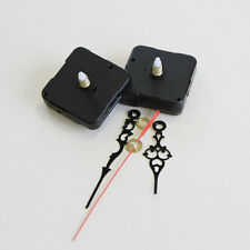 New Silence Black Quartz Clock Horologe Movement Mechanism Repair DIY Tool