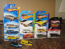 Hot Wheels Lot of 10 1970 Chevelle SS Wagon Variation Garage '70 Mooneyes Hurst