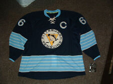 MARIO LEMIEUX #66 PENGUINS 2012-13 NAVY AUTHENTIC HOCKEY JERSEY sz 56 NWT