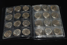 120pc exquisite  Chinese Watch List Coin professional coin collection book AAA