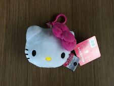 NEW Sanrio Hello Kitty Bag Backpack Luggage ID Tag Bow Plush