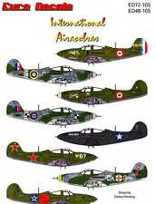 Euro Decals 1/72 BELL P-39 AIRACOBRA Fighter