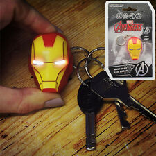 Avengers Marvel Iron Man Head LED Torch Keyring Porte-Clès PALADONE PRODUCTS