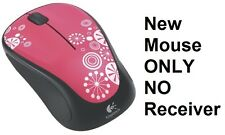 Logitech Wireless Mouse M317 Pink Peppermint Candy 910-003796 MOUSE ONLY