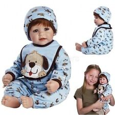 "Baby Dolls That Look Real Lifelike 20"" Boy Weighted Doll Realistic Soft Body Toy"