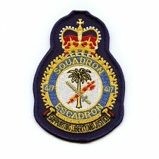 RCAF CAF Canadian 417 Squadron Heraldic Colour Crest Patch