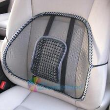 Cool Vent Massage Cushion Mesh Back Lumber Support Office Chair Car Seat Pad New