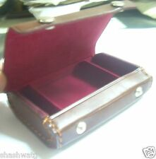 Yashica 635 TLR Camera's 35mm Film Adapter Kit's Brown Leather Case Just Bid 7