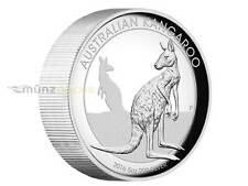 8 $ Dollar Kangaroo Känguru High Relief Australien 5 oz Unzen Silber PP 2016