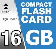 16 GB Flash Compatto 16GB Scheda di memoria per Canon EOS 7D