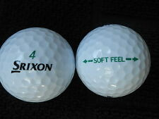 "55 SRIXON  SOFT FEEL  Golf balls -  ""PEARL""  Grade. - *SPECIAL  OFFER*"