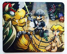 "(1) ""Super Mario"" Mouse Pad - Laptop PC Pad Mousepad Mat Star Wars"
