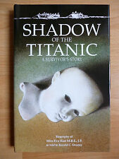 SIGNED BOOK SHADOW OF THE TITANIC 1994 FIRST EDITION EVA HART & RONALD DENNEY