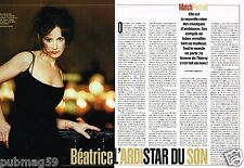 Coupure de Presse Clipping 2004 (2 pages) Beatrice Ardisson
