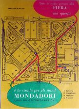 VOLANTINO per la 32° FIERA DI MILANO - INVITO STAND  - anni '60