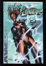Lionheart (1999) #1 cover D Signed by Ian Churchill no COA First Print Loeb NM