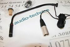 Audio Technica PRO47T gooseneck microphone.  Terminated with 3 pin XLR connector