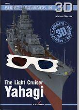 The Japanese Cruiser Yahagi - Super Drawings in 3D - Kagero