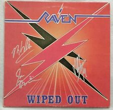 """Autographed Raven """"Wiped Out"""" Vinyl"""