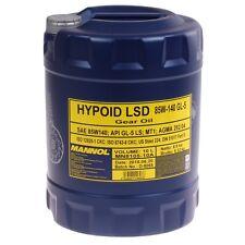 85w-140 OLIO 10 LITRI MANNOL Hypoid LSD QUADRO OLIO API gl-5 LS OLIO