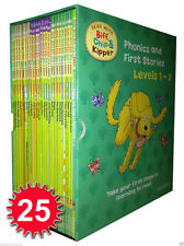 Oxford Reading Tree Read With Biff Chip Kipper Collection 25 Books Set Level 1-3
