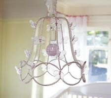 POTTERY BARN KIDS Camille Butterfly Chandelier, NEW HTF