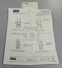 LINCOLN GREASE PUMP Teflon Repair Kit M/N: 82715