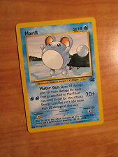NM MARILL Pokemon PROMO Card #29 Black Star Set Wizards of the Coast League 2000