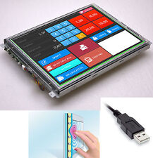 "38cm 15"" USB TOUCH SCREEN DISPLAY CANVYS PV760T PROTECTION PLATE For WIN2000"