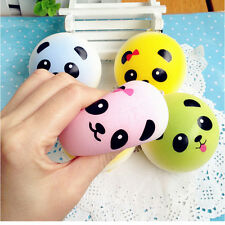 Soft Squishy Bread Random Medium Mini Panda Cake Bun Phone Strap 4cm