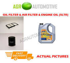 HYBRID OIL AIR FILTER KIT + LL 5W30 OIL FOR TOYOTA PRIUS 1.5 77 BHP 2003-09