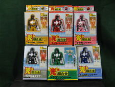 ZYURANGER POWER RANGERS Set of 6 Metal Figures Complete , made in  Taiwan