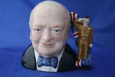 BAIRSTOW MANOR COLLECTABLES FORCIES WINSTON CHURCHILL ARMY CHARACTER JUG