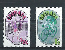 GRENADA, 1976 OLYMPICS , SPORTS, 2 STAMPS ,  PERF,MNH