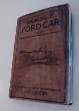 1917 Edition Ford Model T Car Reference & Repair Manual by Victor Pagé ORIGINAL