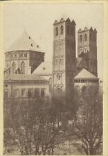 ORIGINAL VINTAGE PHOTOGRAPH OF THE CHURCH OF ST. GEREON - COLOGNE, GERMANY
